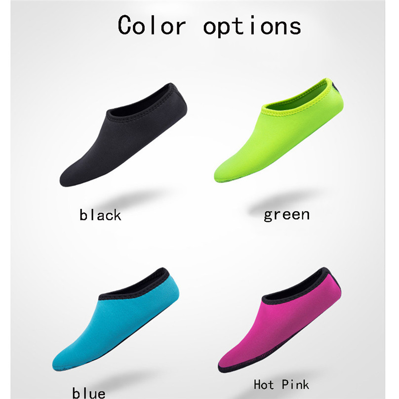 2019 NEW Adult Diving Neoprene Swimming Diving Socks Snorkel Surfing Wetsuit Water Shoes Boots Aqua Shoes #4A24 (9)