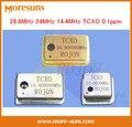 Fast Ship Livre 3 pçs/lote 28.8 MHz 24 MHz 14.4 MHz Cristal Oscilador TCXO Temperatura ppm-compensação