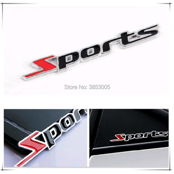 Car styling sport Logo Emblem Badge Decal Sticker for volkswagen golf 7 ford vw golf 7 bmw e87 bmw e91 ford focus 2 renault clio image