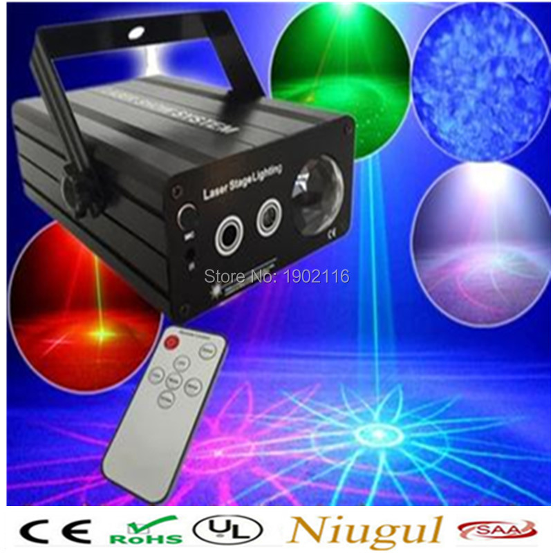 RGB Mini 3 Lens 24/48 Patterns Mixing Laser light Remote Blue wave LED Light Show DJ Disco Party Lighting stage laser projector 3 lens rgb 24 48 patterns mixing laser projector stage lighting effect blue wave led stage lights show disco dj party lighting