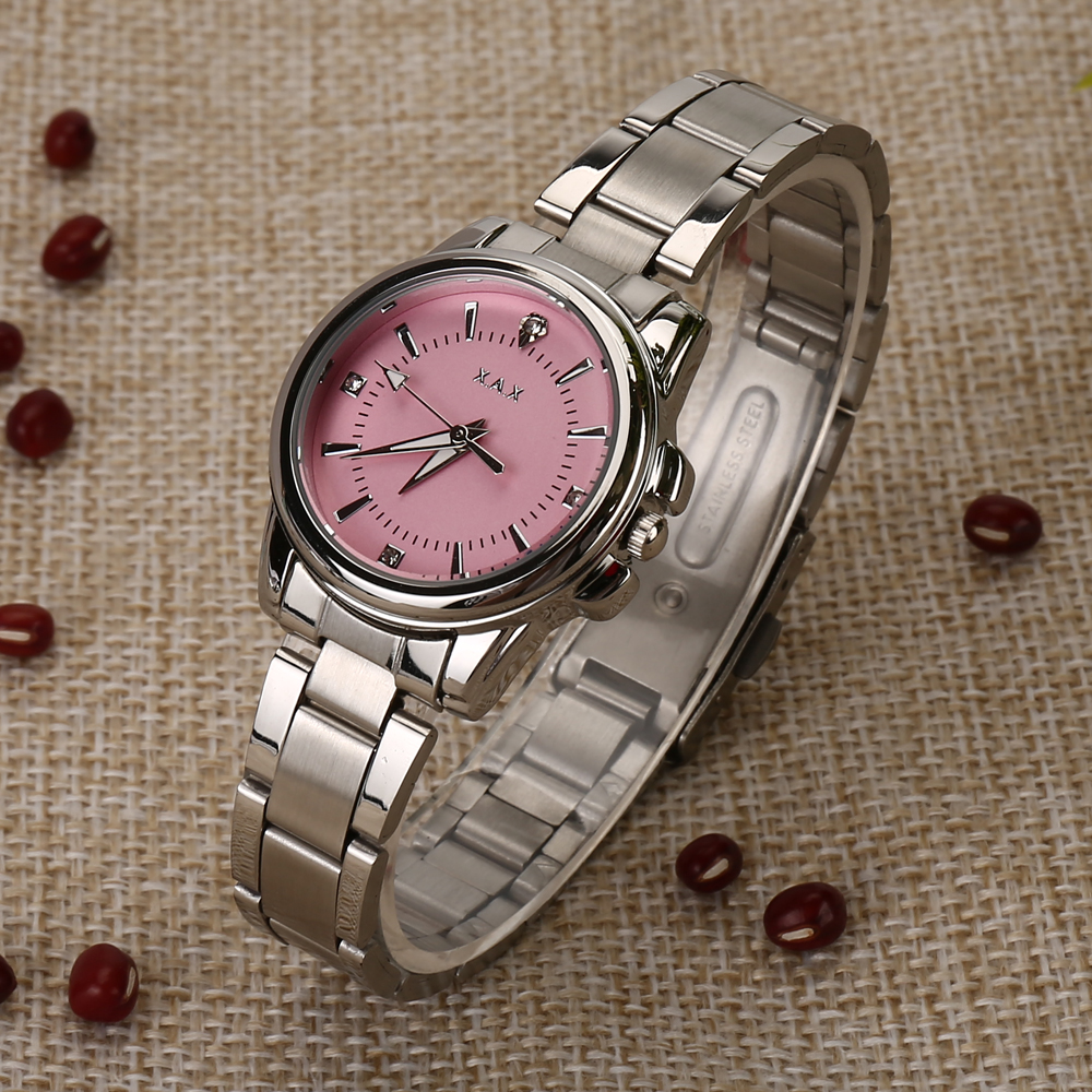 Luxury Stainless Steel Ladies Watches Water Proof
