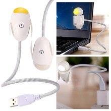 2016 Creative Robot  Novelty Gadget USB Led Light With Adjustable Luminance Led  FW1S