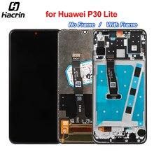 Pantalla LCD para Huawei P30 Lite, Panel de pantalla táctil con Marco, montaje de digitalizador, repuesto de pantalla LCD para Huawei P30 Lite