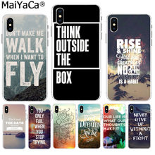 MaiYaCa Islam Motivations Poster Zitate Schutzhülle Handy Fall für Apple iPhone 8 7 6 6S Plus X XS max 5 5S SE XR Abdeckung(China)