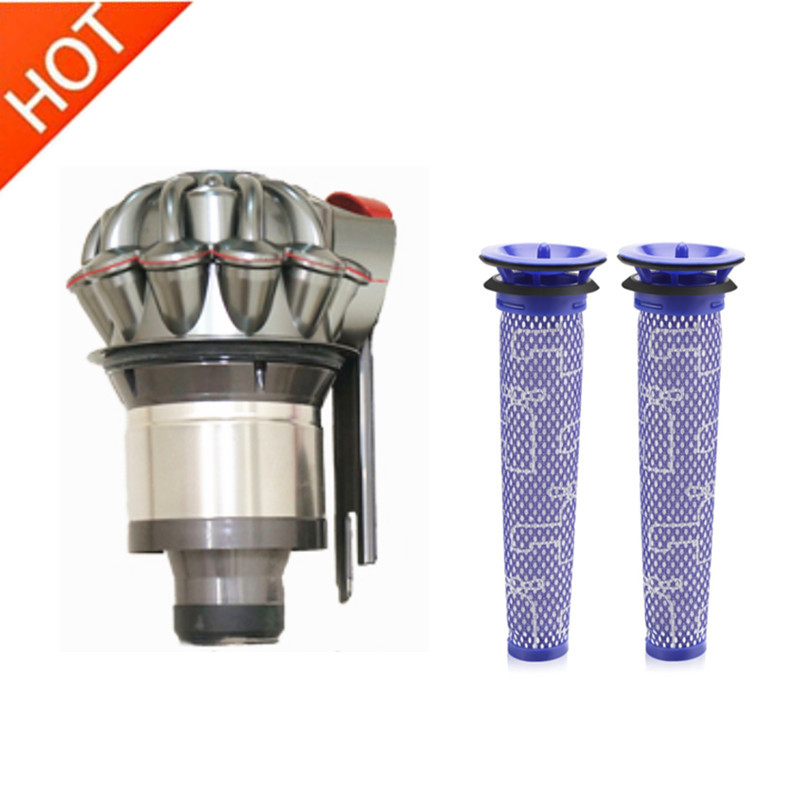 3pcs For Dyson V7 V8 Dust collector vacuum cyclone separation filter cartridge Vacuum Cleaner Parts3pcs For Dyson V7 V8 Dust collector vacuum cyclone separation filter cartridge Vacuum Cleaner Parts