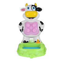 Milk Cow Spray Water Games With Sound Families Desktop Fun Gadgets Anti Stress Toys Novelty Gags Practical For Kids Childen Toy