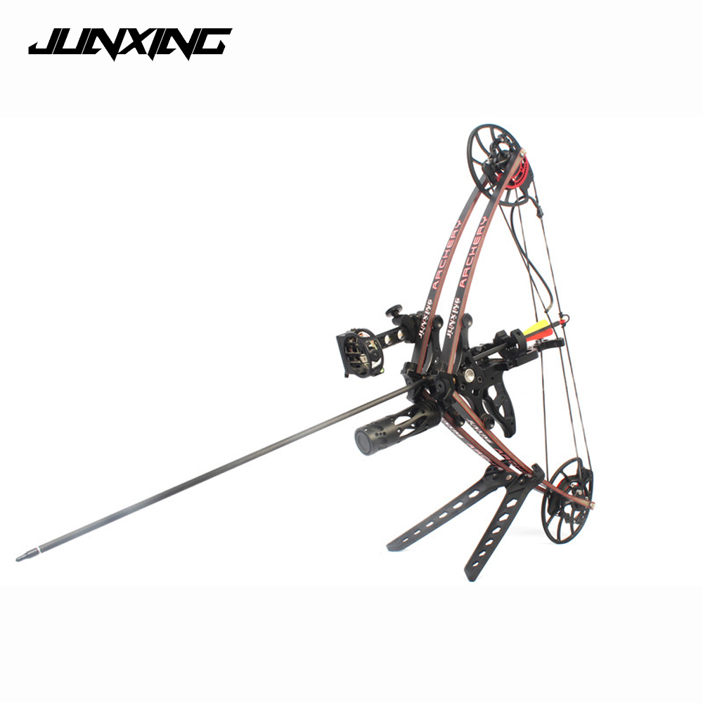 35-65 Lbs Compound Bow 330 Fps 25-29.5 Inch for Competition Practice Outdoor Archery Hunting Shooting hunting archery compound bow with adjustable 40 65 lbs aluminum alloy shooting competition practice sport games slingshot bow