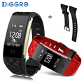 Diggro S2 Smart Bracelet Band Bluetooth 4.0 Fitness Tracker Heart Rate Monitor Smart Bracelet Wristband For IOS Android