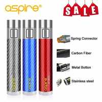Sigaretta elettronica Mod Offerta Speciale Vape Dispositivo aspire CF Batteria Connettore a Molla 510 Tubo In Fibra di Carbonio Fit Nautilus Serbatoio