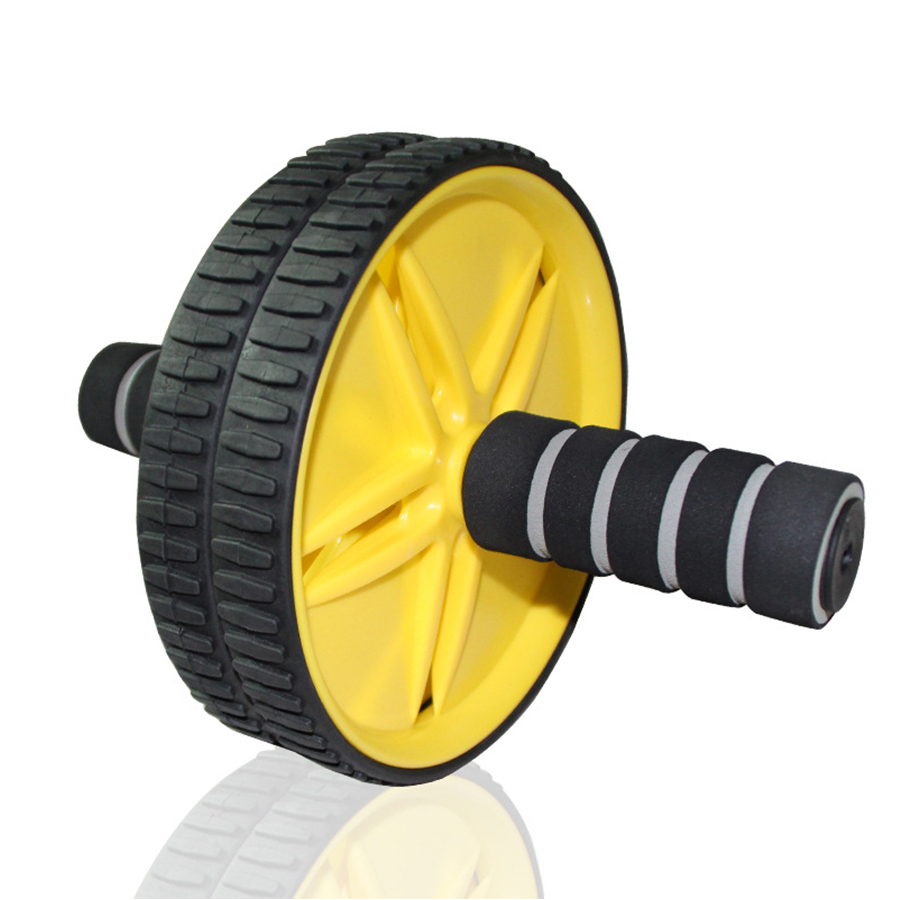 Keep Abdominal Fit Wheels No Noise Abdominal Wheel Ab Roller With Mat For Exercise Fitness Equipment Muscle Trainer Ab Wheels