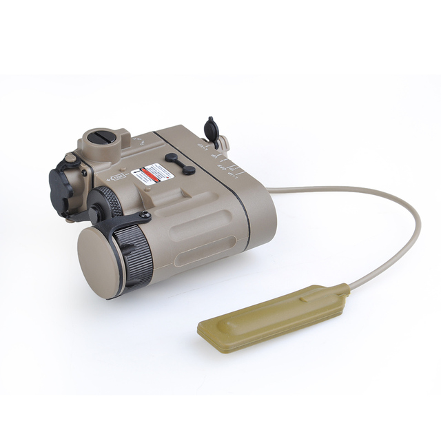 Airsoft Tactical Flashlight DBAL-EMKII IR Laser Led Torch Multifunction IR Laser Illuminator DBAL-D2 Weapon Lights  for Hunting
