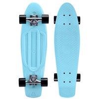 27inch Plastic Skateboard Complete Retro Cruiser Longboard No Assembly Requirements