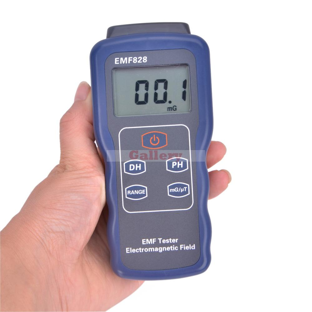 Digital Low Frequency Magnetic Field Intensity Meter Indicator Emf828 цена