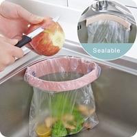 Kitchen Sink Trash Bag Hanger
