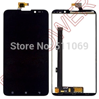 For Lenovo S939 LCD Screen Display with Touch Screen Digitizer Assembly by free shipping; HQ