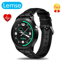 GW01 Bluetooth 4.0 Smart Watch MTK2502 IPS Round Screen Life Water Resistant Anti-lost Smartwatch Supporting Android iOS System