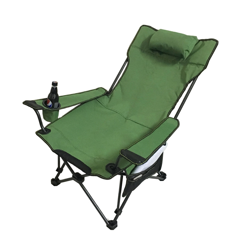 Outdoor Folding Fish Chair Recliner Portable Chair Beach Chair Fishing Chair Camping Hiking Fishing Stool Fish Pesca Accessories|Fishing Chairs| |  - title=