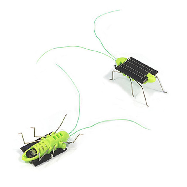 Solar Toys For Kids Smallest Solar Power Mini Toy Car Racer Educational Solar Powered Toy cockroach ABS Dropshipping Z703 3