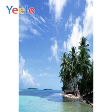Yeele Tropical View Seaside Vacation Wedding Portrait Photography Backdrops Summer Photographic Backgrounds For Photo Studio