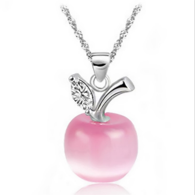 TOMTOSH Collier Jewelry Necklaces 2015 new arrival hot sale Fashion Accesories Opals Small for apple Pendant Necklace Women N152