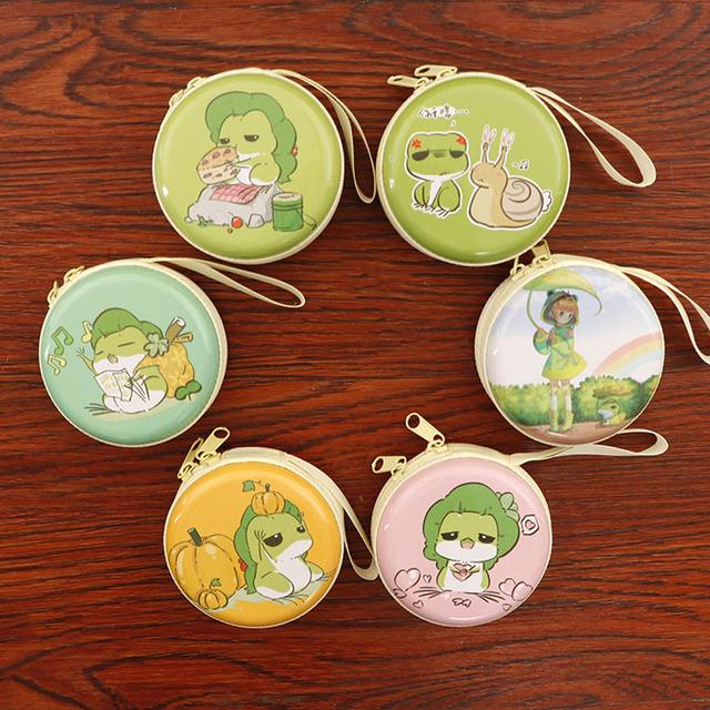 Unicornio monedero dibujos animados Rana viaje Mini funda para auriculares Cables Navidad cumpleaños boda favores regalos para los invitados