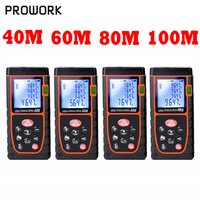 40M 60M 80M 100M Optical Electrical Handheld Laser Rangefinder Digital Laser Range Finder Telemetro Laser Distance