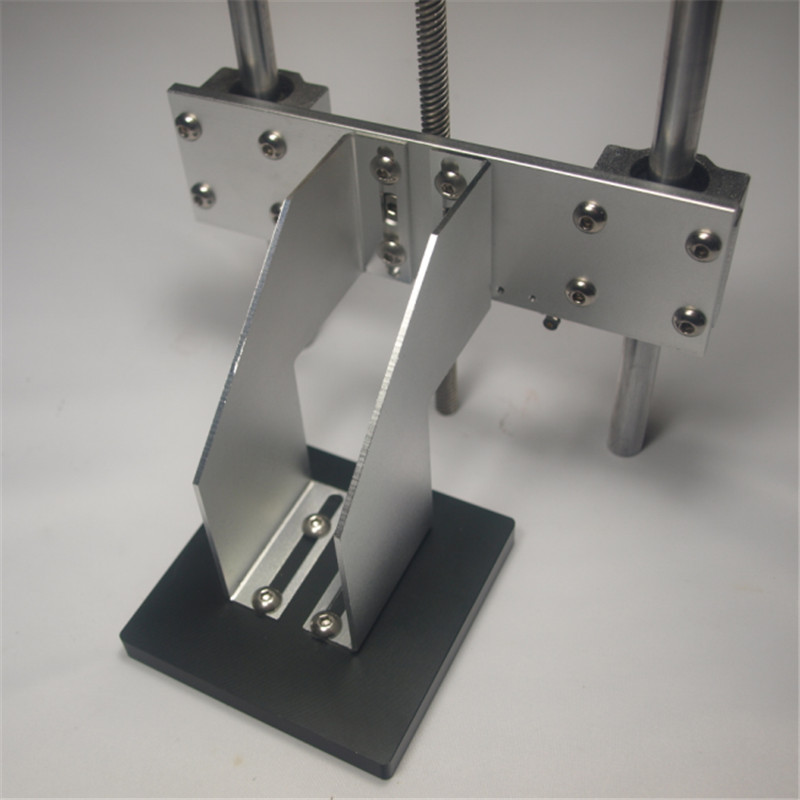 Funssor 1 kit de plate-forme de construction d'axe Z pour bricolage UV resion DLP/SLA bras de support de plaque de construction d'imprimante 3D + écrou TR8 delrin