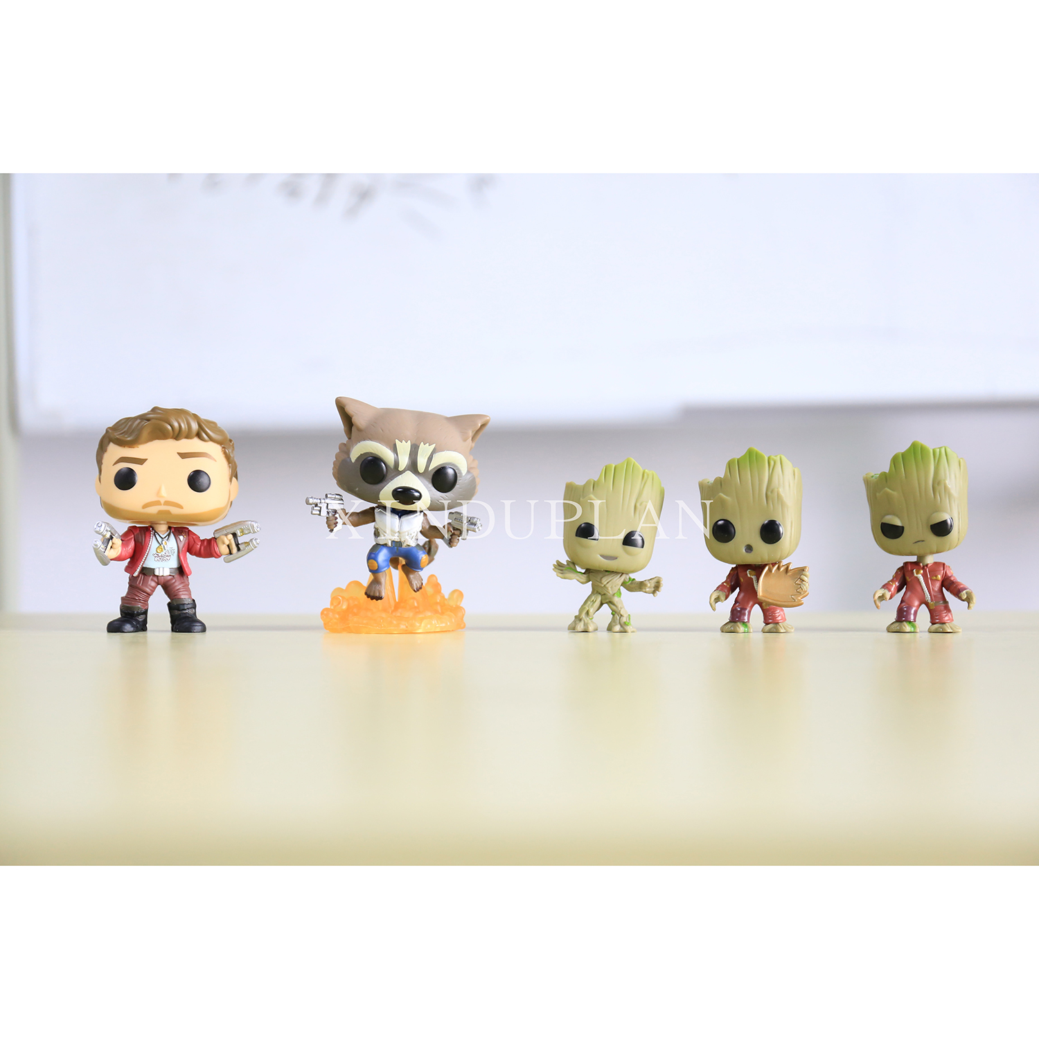 XINDUPLAN Funko pop Dance Groot Baby Star Lord Rocket Racoon Guardians of the Galaxy Vol 2 Action Figure Toy PVC Model Gift 0947 new funko pop guardians of the galaxy tree people groot