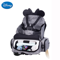 Disney Baby Dining Chair Seat Multifunctional Mommy Bag Feeding Highchair Portable Baby Eating Chair Safety Baby Chair Carrier