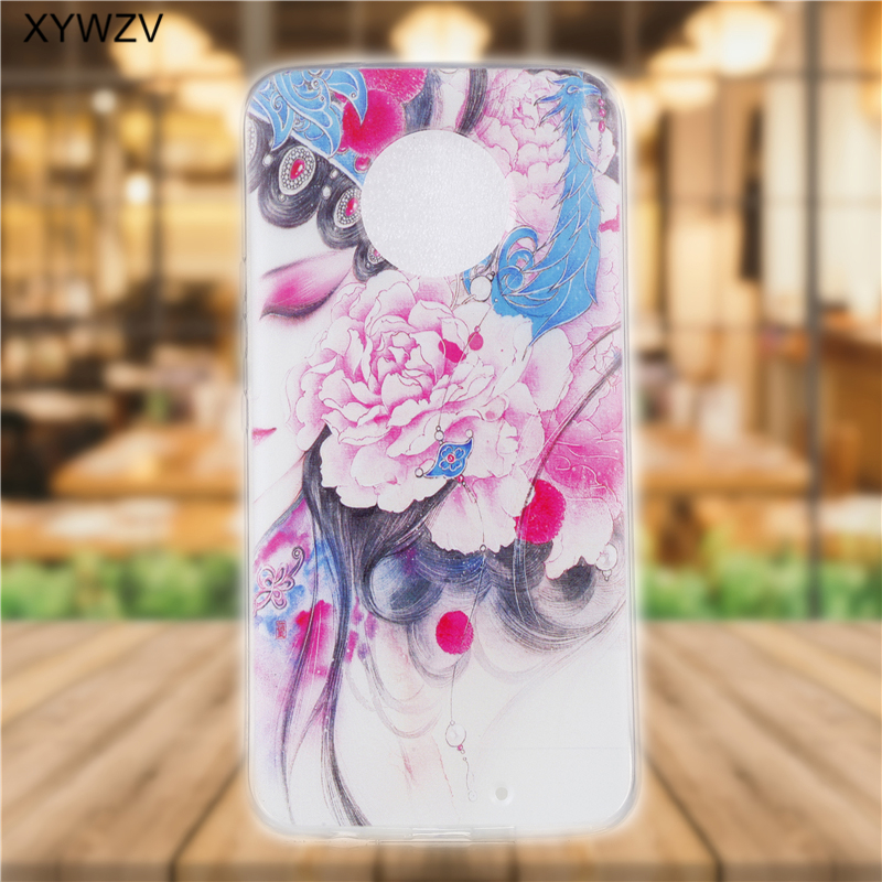 Image 2 - sFor Moto X4 Case Soft Silicone Pattern Phone Case For Motorola Moto X4 Back Cover For Motorola Moto X4 XT1900 Coque Fundas <-in Fitted Cases from Cellphones & Telecommunications