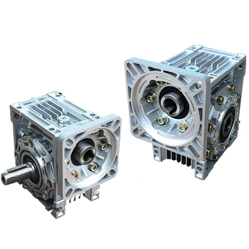 Червячный редуктор NMRV075 30:1, 90 градусов, 19 мм, одиночный входной вал, червячный редуктор скорости NEMA42, серводвигатель, шаговый двигатель