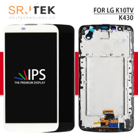 Srjtek 5.3 For LG K10TV K430DS LCD K410TV K430TV Display Touch Screen Digitizer Glass+ Frame K10 LTE K430 K410 For LG K420n LCD