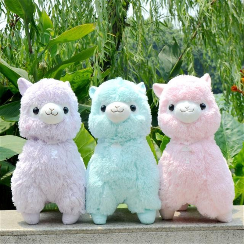 35,45cm Japanese Alpacasso Soft Toys Doll Giant Stuffed Animals Lama Toy 5 Colors Kawaii Alpaca Plush Kids Christmas Gift hot sale 50cm the last airbender resource appa avatar stuffed plush doll toy x mas gift kawaii plush toys unicorn