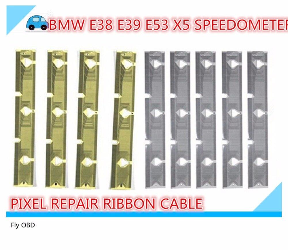 Prix pour Tableau de bord LCD Pixel Mort Réparation Câble Ruban Pour BMW E38 E39 E53 X5 Vitesse