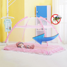 New Arrival Baby Mosquito Anti-bite Net Indoor Folding Baby Bed Bottomless Mesh Cover Portable Infant  Mosquito Net