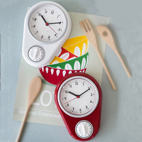 Kitchen Timer Wall Clocks Countdown Fucntion Cooking Timers Alarm Count Down By 59Min.59Sec.