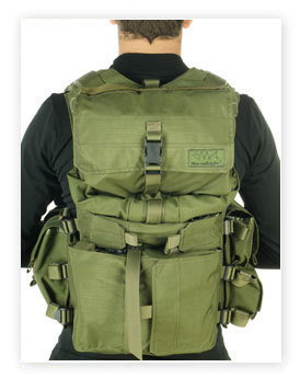 Genuine Marom Dolphin TV 7711 Tactical Combatant Vest with Hydration system