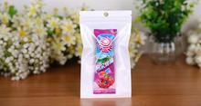 3000 pcs 8.5*16 cm  Zip Lock Grocery/Jewelry/Electronic Accessary White/Clear Self Seal Zipper Plastic Retail Packaging Pack Bag plastic zip top can convenient cover white 2 pcs