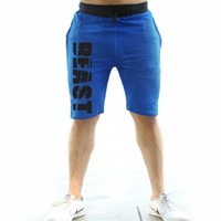 Mens Gyms Fitness Bodybuilding Shorts Sporting Fashion Leisure Quick Dry Breathable Cool Brand Short Trousers Shorts