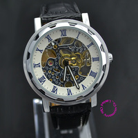 wholesale buyer price good quality luxury automatic self wind Skeleton Mechanical business Mens wristwatch Watch hour
