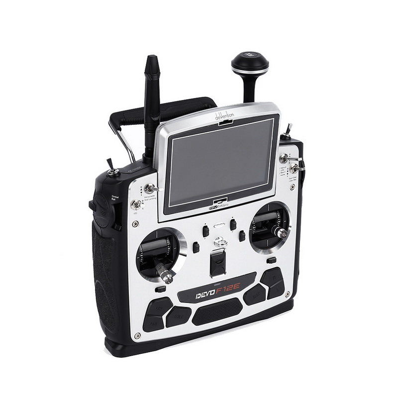 FPV Radio 5.8Ghz Transmitter with 5 LCD Display 12CH for Walkera Devo F12E f09070 walkera devo f12e transmitter fpv radio 32 channel 5 8ghz with 5 lcd display for h500 x350 pro x800 rc drone quadcopter