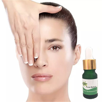 Thin Face Massage Green Tea Essential Oils Fat Burning Moisturizing Skin Whitening Cream Face Care Product 10ml Essential Oil