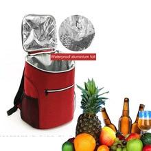 Men Camping Picnic Backpack Cooler Bag Refrigerator For Beer Fruit Isothermal Women Foood Thermal