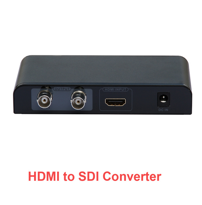 389 HDMI To SDI Converter Supports 2 Way SDI Simultaneous Output 1080P HDMI To SDI Audio Video Converter For HDTV Monitor