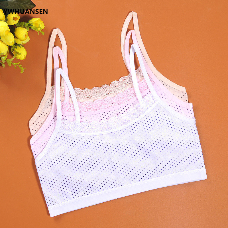 YWHUANSEN Lace Bras For Girls Spot Summer Thin The Bra Small Young Girl Bra Clothes For Training Childrens Bra Childs UndewearYWHUANSEN Lace Bras For Girls Spot Summer Thin The Bra Small Young Girl Bra Clothes For Training Childrens Bra Childs Undewear