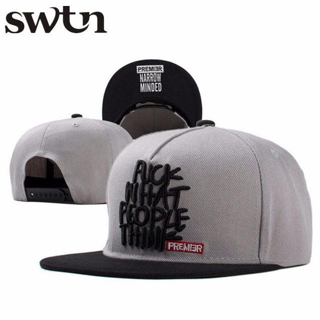 1e4c6245173 2017 new fashion snapback baseball cap flat-brimmed hat visor hat wild  personality hip hop hats for men women