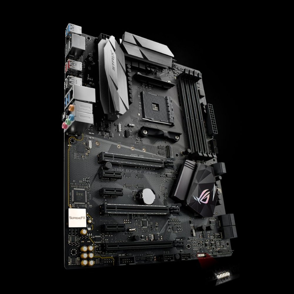 ASUS ROG STRIX B350-F GAMING Desktop Motherboard B350 Socket DDR4 8G SATA3 USB3.1 Micro-ATX Mainboard With RGB LED Effect соединительный элемент siemens wz 20400