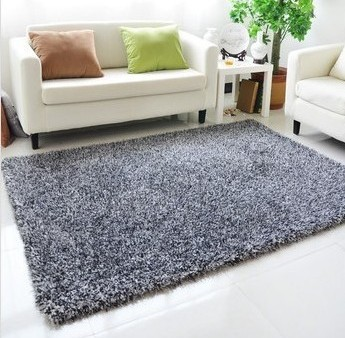 14m2m large area rug parlor carpet korea bright silk shag rug living