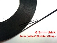 20meters roll 5x 3mm 0 5mm thick black double sided adhesive sponge foam tape gasket for.jpg 200x200