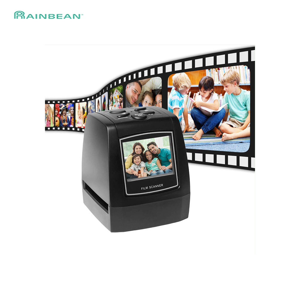 Protable Negative Film Scanner 35mm 135mm Slide Film Converter Photo Digital Image Viewer With 2.4